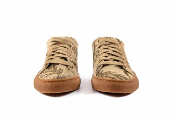 Low Scouts Hennepvezels Sneakers Voorkant