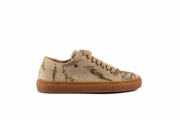 Low Scouts Hennepvezels Sneakers Zijkant