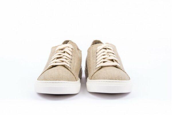 Low Scouts Ruwe Hennep Unisex Sneakers Voorkant