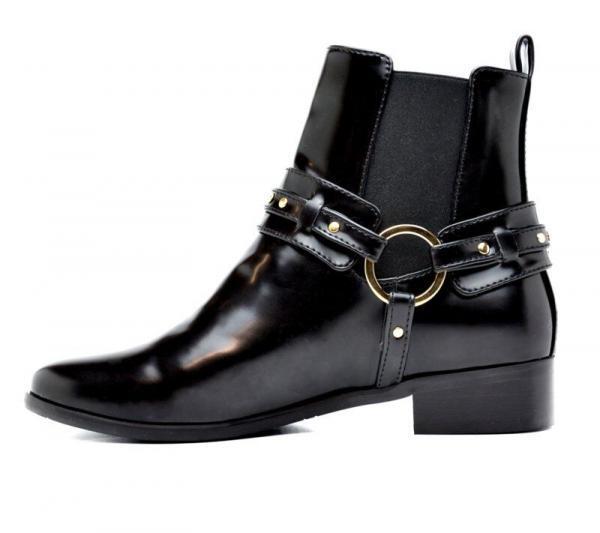 NAE Laarzen Neus Zwart binnenkant