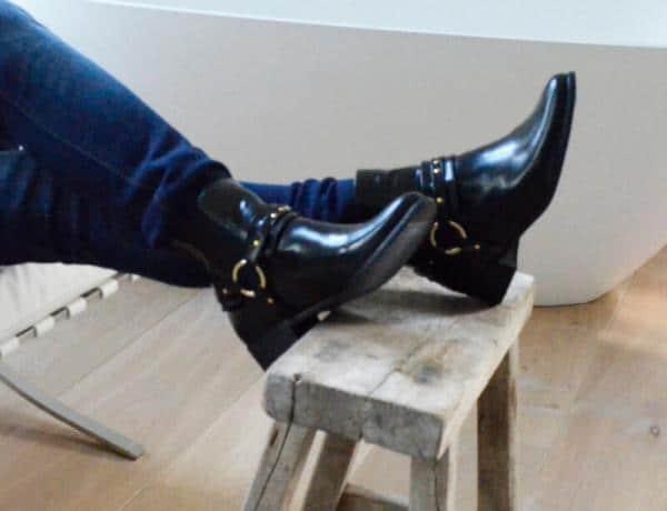 NAE Laarzen Neus Zwart stijlimpressie1
