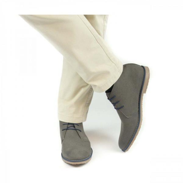NAE Lagos Grey suede look 2