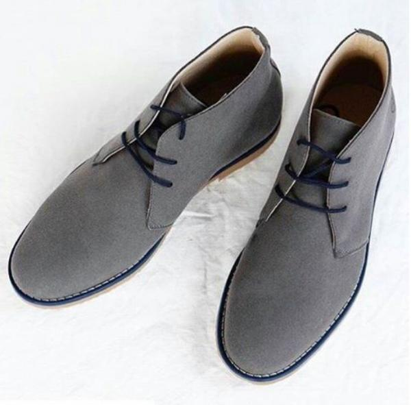 NAE Lagos Grey suede look 6