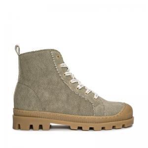 NAE NOAH Cotton Green boot enkel zijkant