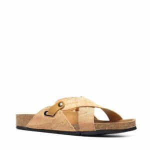 NAE PAXOS sandalen Cork voorkant