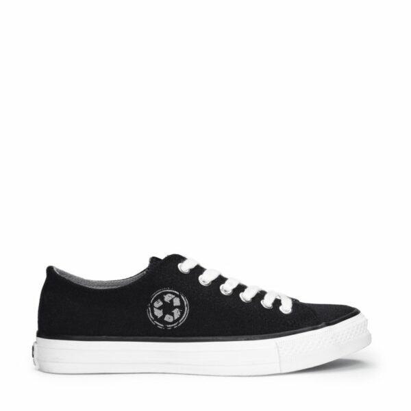 NAE RECLAIM Sneakers Zwart Zijde