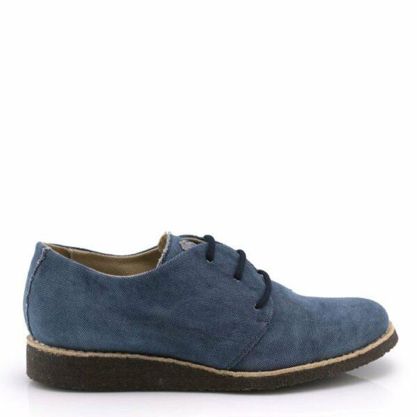 NOAH LISA Blauw Sneaker Zijkant