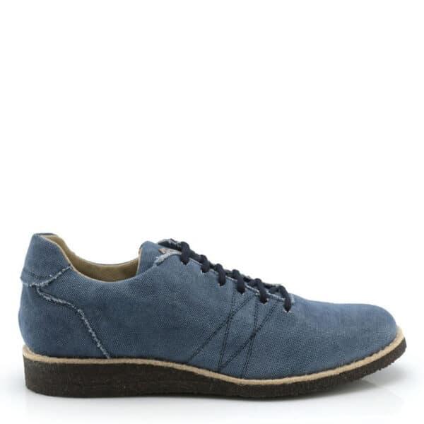 NOAH Marzia Sneakers Blauw Zijkant