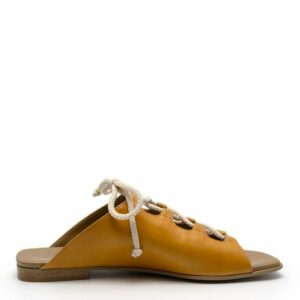 NOAH Viriginia sandalen oker zijkant