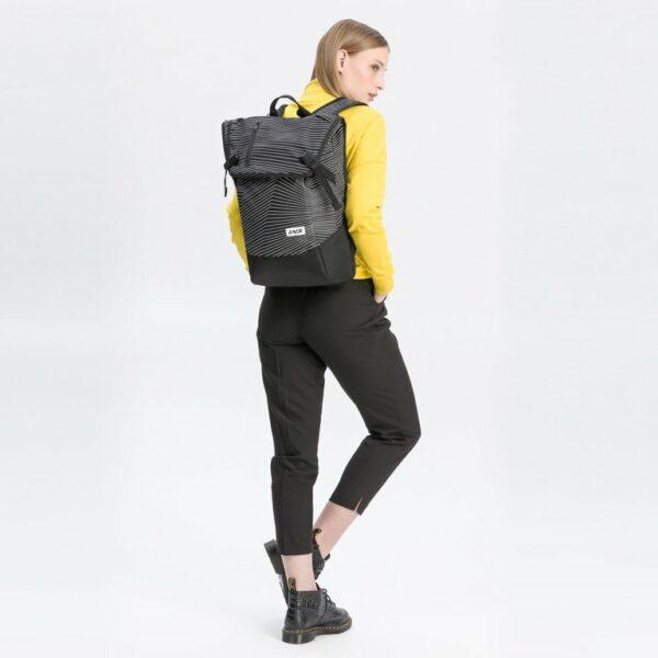 Aevor Fineline Black Vegan Backpack 3