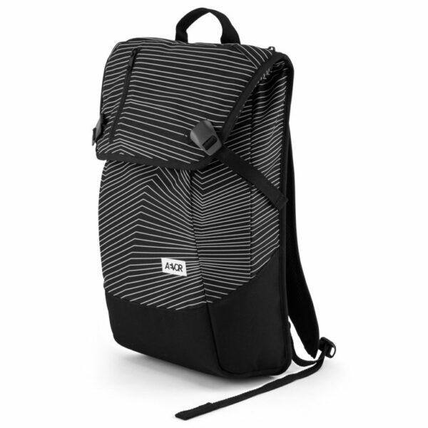 Aevor Fineline Black Vegan Backpack 4
