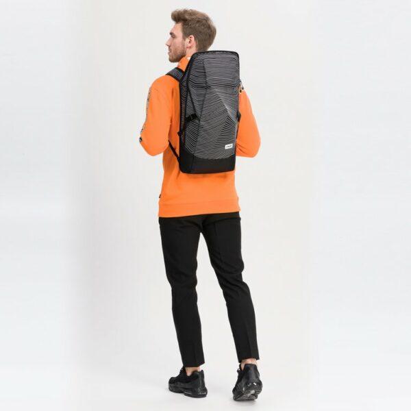 Aevor Fineline Black Vegan Backpack 5