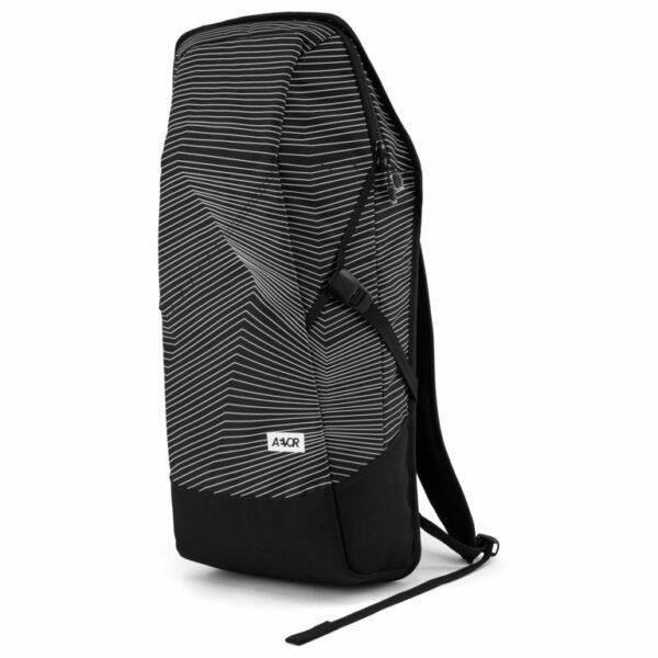 Aevor Fineline Black Vegan Backpack 6