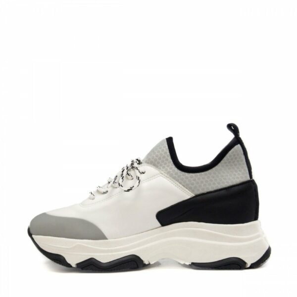 NAE Edda Sneakers Zwart Grijs Ugly Sneaker Trend 3