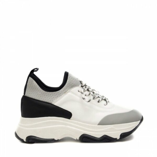 NAE Edda Sneakers Zwart Grijs Ugly Sneaker Trend 4