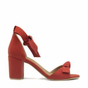 NAE Estela sandaal met enkelband rood