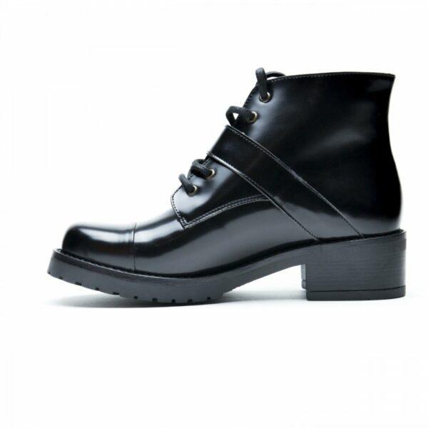 NAE Luce Boots Met Hak Zwart 1