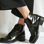 NAE Luce Boots Met Hak Zwart 6