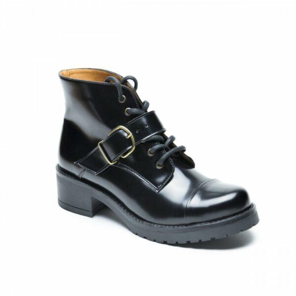 NAE Luce Boots Met Hak Zwart 5