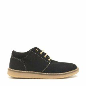 NAE Pipa lage schoen microsuede zwart 4 1