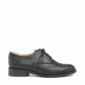 NAE Simone derby schoen zwart