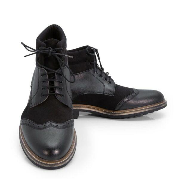 NOAH Alessio Boots Zwart 3