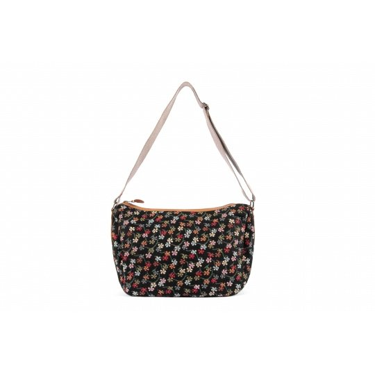 Risorse Future Mezza Little Flowers Black Vegan Tas 1
