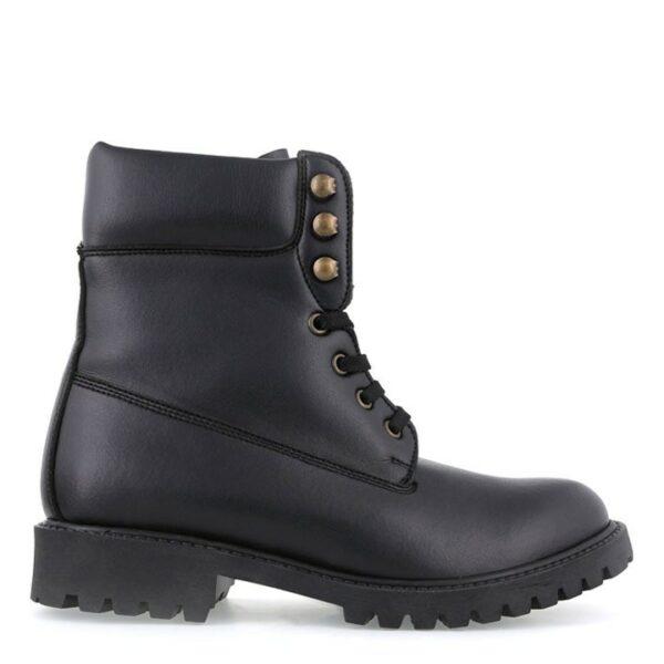 Noah Vegan Shoes Claudia Claudio Nappa Black Boots