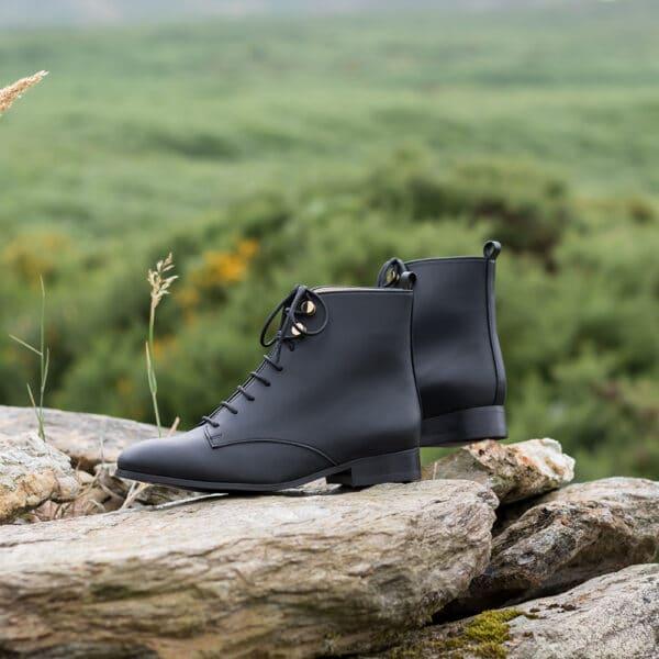 Sequoia Noir 4 Collection Oxygenge Minuit Sur Terre Chaussures Vegan