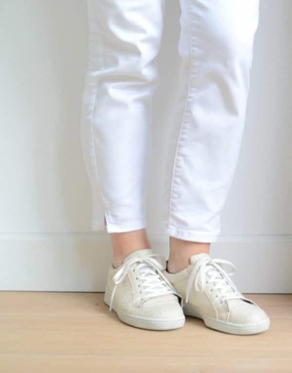 NAE Basic Off White Pinatex Sneaker 4
