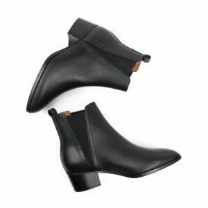 WIlls Vegan Shoes Point ToeChelsea Boots 2 1