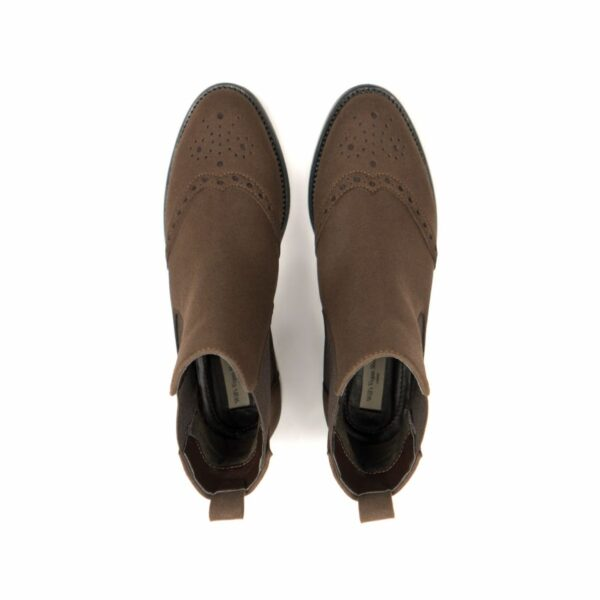 Wills Vegan Shoes Brogue Booties 2