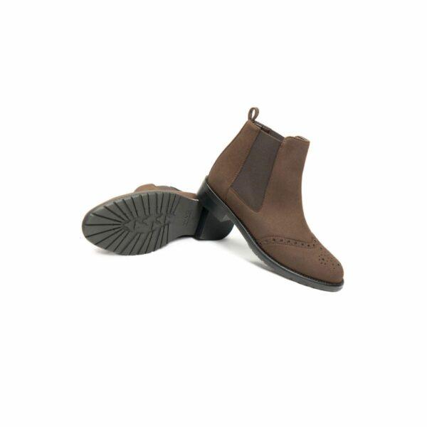 Wills Vegan Shoes Brogue Booties 4