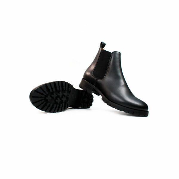 Wills Vegan Shoes Luxe Deep Tread Chelsea Boots 4