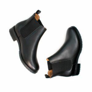 Wills Vegan Shoes Luxe Smart Chelsea Boots 1