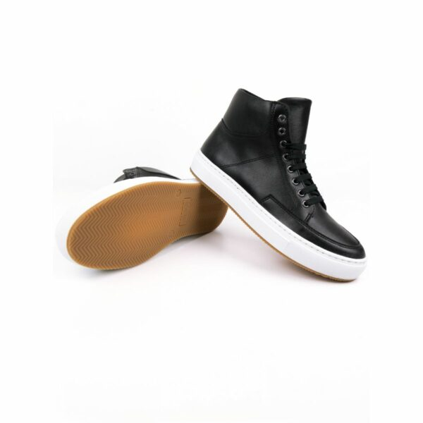 Wills Vegan Shoes Sneaker Boots Zwart 1 1