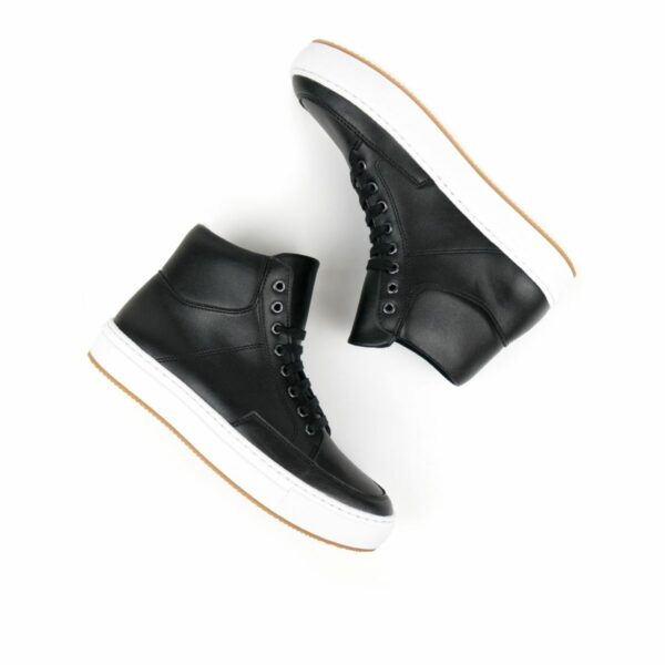 Wills Vegan Shoes Sneaker Boots Zwart 2 1