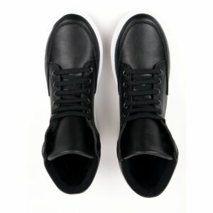 Wills Vegan Shoes Sneaker Boots Zwart 3 1