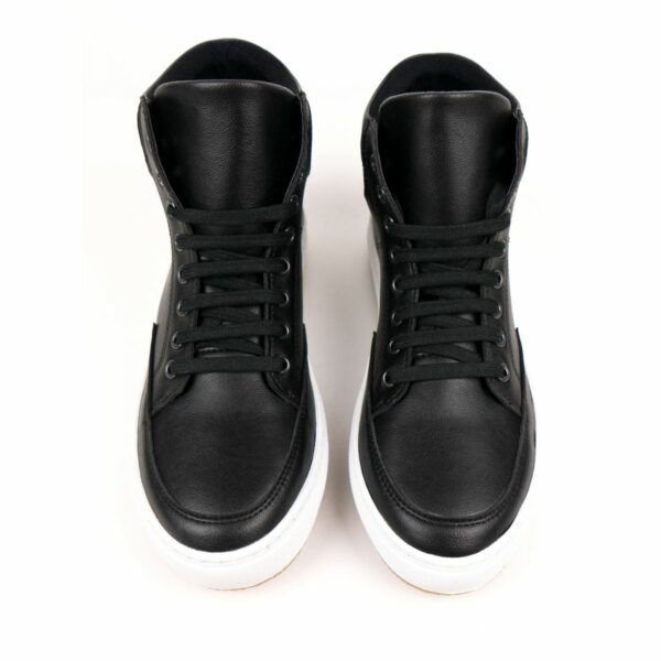 Wills Vegan Shoes Sneaker Boots Zwart 4 1