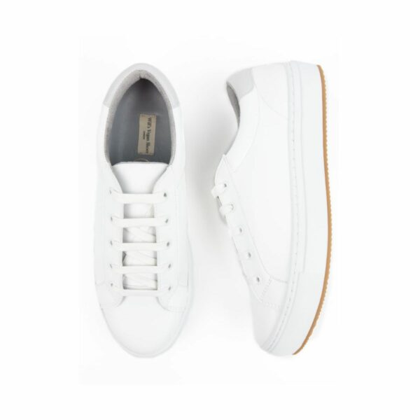 Wills Vegan Shoes NY Sneakers Wit 2
