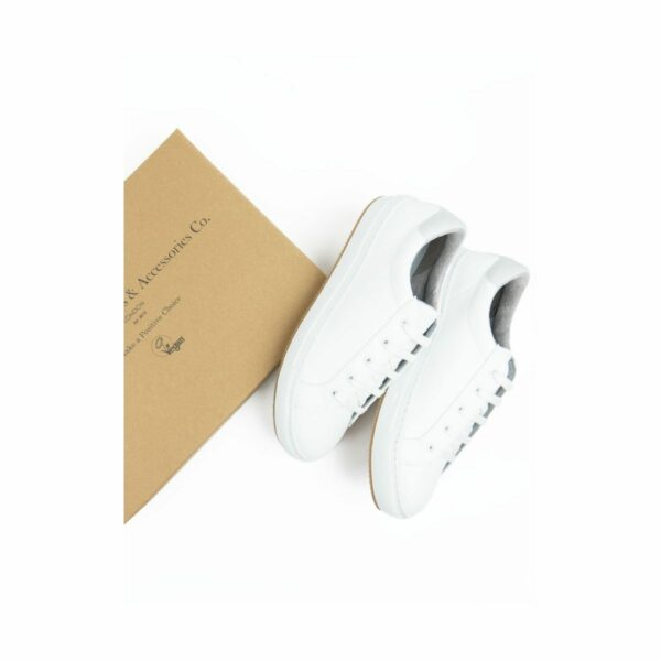 Wills Vegan Shoes NY Sneakers Wit 3