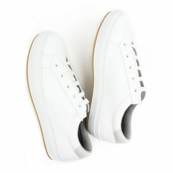 Wills Vegan Shoes NY Sneakers Wit 5