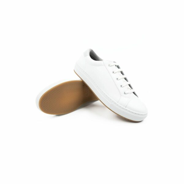 Wills Vegan Shoes NY Sneakers Wit 6