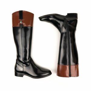 Wills vegan shoes ridingboots rijlaarzen zwart bruin 1