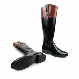 Wills vegan shoes ridingboots rijlaarzen zwart bruin 2