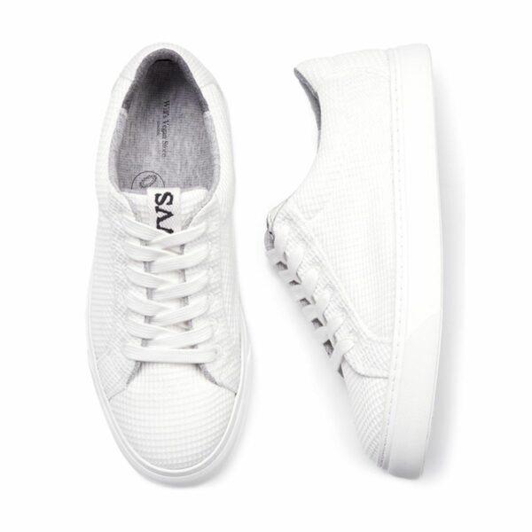 Wills Vegan Shoes LDN Biodegradable Sneaker Wit Unisex 1