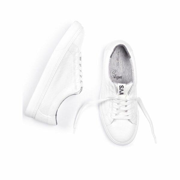 Wills Vegan Shoes LDN Biodegradable Sneaker Wit Unisex 2