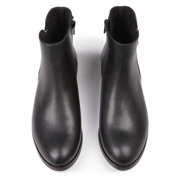 Wills Vegan Shoes Low Ankle Booties Dames Zwart 3