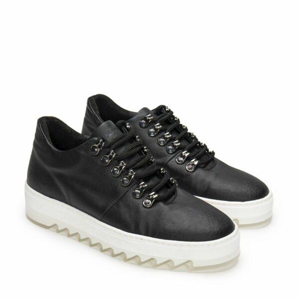 Wills Vegan Shoes Amber Pinatex Sneakers 3