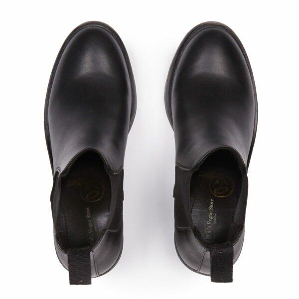 Wills Vegan Shoes Dames Track Sole Booties 4
